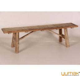 Bank aus alt Holz